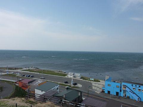 監視台から見た宗谷岬
